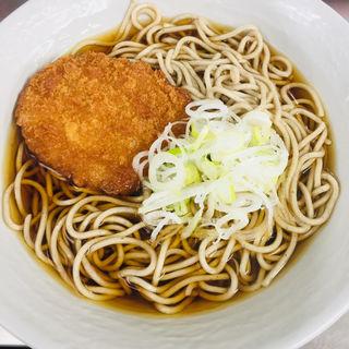 コロッケそば(大江戸そば JR赤羽駅3・4番線ホーム店 )