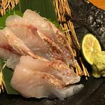直送鮮魚の刺身