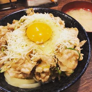 チーズすた丼(伝説のすた丼屋 お茶の水店 )