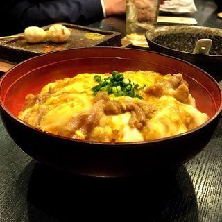 焼き鳥屋の絶品親子丼(焼き鳥 松元 西中洲本店)