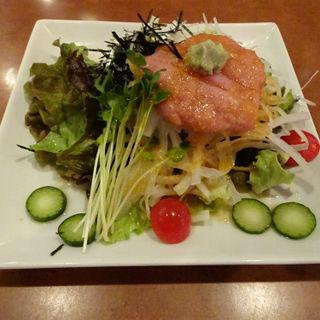 ネギトロ大根サラダ(いっすんぼうし 横浜東口店 )