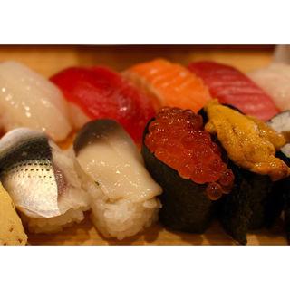 寿司ランチ(  鮨政 西口店)