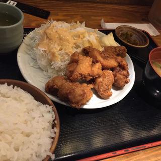 唐揚げ定食(てけてけ 赤坂見附店 )