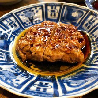 鴨のハンバーグ(和食晴ル (ワショクハル))