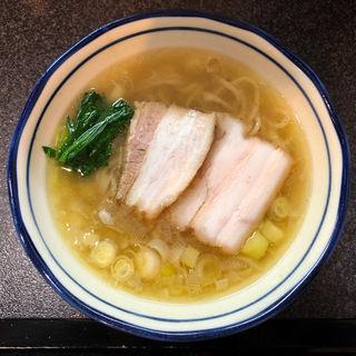 白壺ラーメン(烈志笑魚油 麺香房 三く)