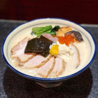 薫る豆乳三(烈志笑魚油 麺香房 三く)