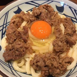 牛すき釜玉大(丸亀製麺 大崎センタービル店 )