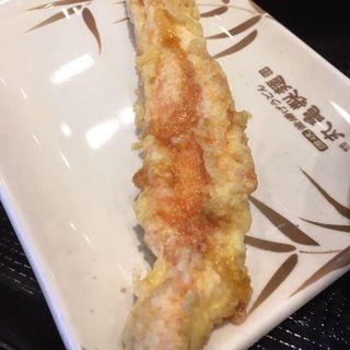 カニカマ天ぷら(丸亀製麺 大崎センタービル店 )