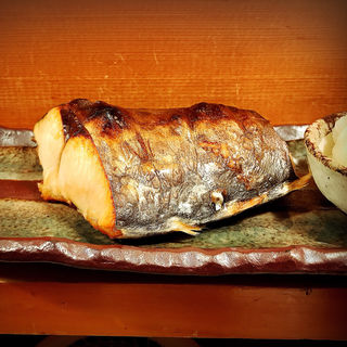 サワラの塩焼き(魚哲)