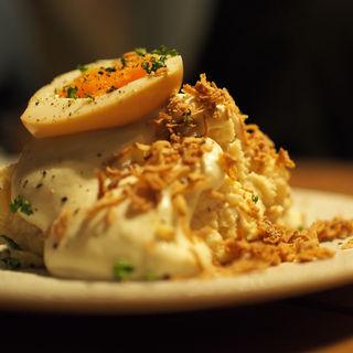 燻製ポテトサラダ(薪焼きジビエバル YAMAGOYA)