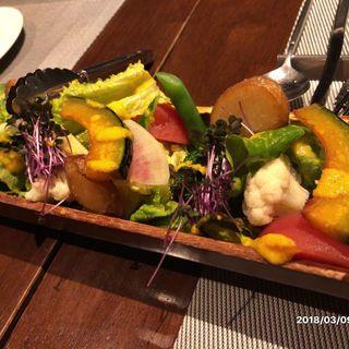 16品目野菜のデトックスサラダ(タマヤ 根津店 (TAMAYA))