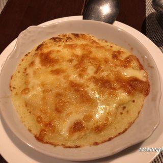 チーズたっぷり焼きマッシュポテト(タマヤ 根津店 (TAMAYA))