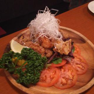 特製フライドチキン(個室で肉バル BOSTON 渋谷店)