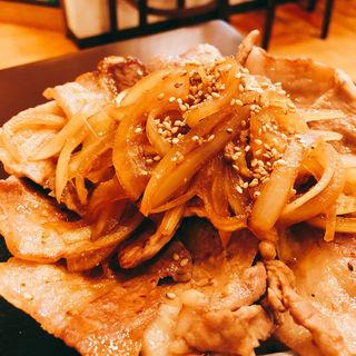 味噌豚丼(どんぶり屋ぽん )