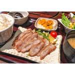 国産豚トロ定食