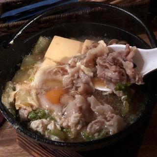 すき焼風肉豆腐(07)