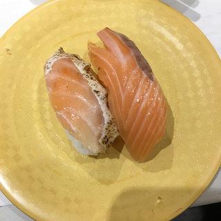 サーモン・焼きサーモン(魚べい 大森駅山王北口店 )