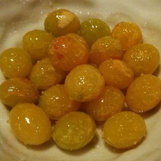 銀杏オリーブオイル炒め燻製塩(けむり 人形町店 )