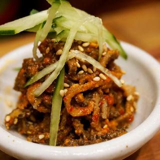 肉チャンジャ(博多筑紫口 肉寿司)