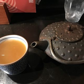 蕎麦湯(玉椿 (たまつばき))