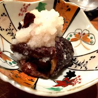 揚げ椎茸のおろし和え(コノ花まひろ )