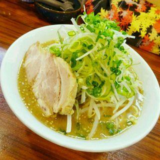 コク味噌らーめん(ネギ増し)(麺の房 味わい亭 (めんのぼう あじわいてい))