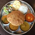 南インド定食(南インド料理ダクシン 東日本橋店 (DAKSHIN))