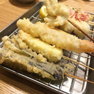 串揚げ8本(ソバキチ 池袋東武店 )