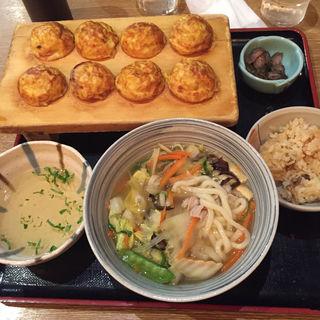 冬のホッコリセット(茶房ひまわり イズミヤ洛北店 )