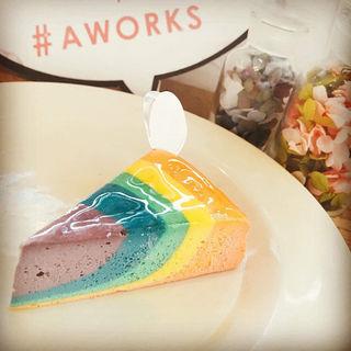 レインボーチーズケーキ(エーワークス (A WORKS))