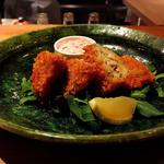 大牡蠣フライしば漬タルタルソース