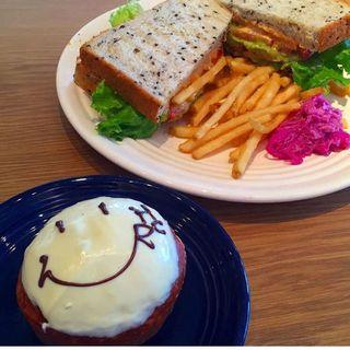 B.L.T.A.Cサンドイッチ(RHC CAFE 大阪店 (アールエイチシーカフェ))