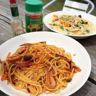 イカ明太スパゲティー