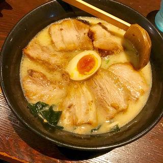 白湯ラーメン(本郷亭 名駅店 (らーめんほんごうてい))