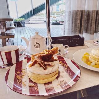 季節のフレンチパンケーキ(カフェ ラ・ポーズ ルクア大阪店 (La Pause))