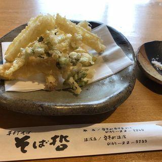 浜防風の天ぷら(そば哲 遠浅店 (そばてつ))