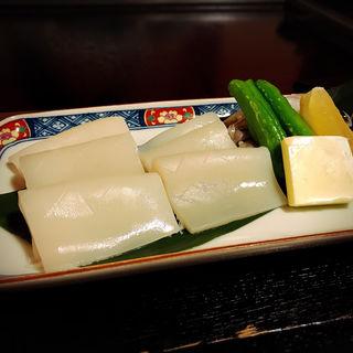 生いかのバター焼き(すずめの御宿 (すずめのおやど))