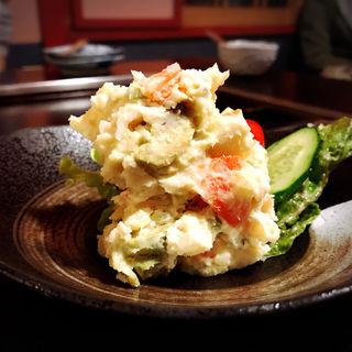 アボガド入りポテトサラダ(すずめの御宿 (すずめのおやど))