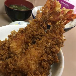 ジャンボ海老天丼(もりなが食堂 )