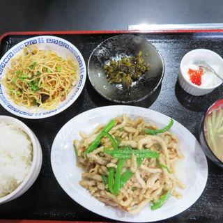 チンジャオロース定食(好運来)