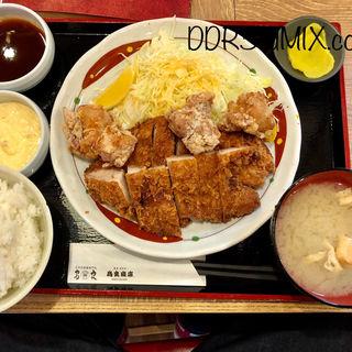 チキン・チキン定食(鳥良商店 浅草橋駅前店)
