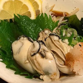 牡蠣 ボイル(和彩酒処 伊織 )