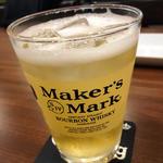 ハイボール(Maker's  Mark)
