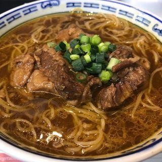 カレー牛バラ麺(粥麺専家 香港バル213)