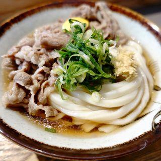 肉ぶっかけ(冷)(Udon kyutaro)