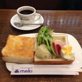 モーニングセット(コーヒーハウス マキ (COFFEE HOUSE maki))
