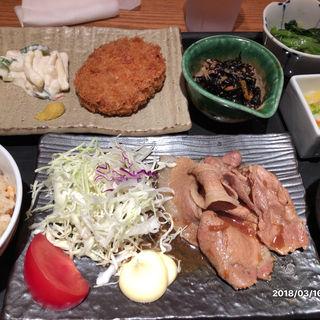 選べる2種もり定食(大かまど飯 寅福 丸の内iiyo!!店 )