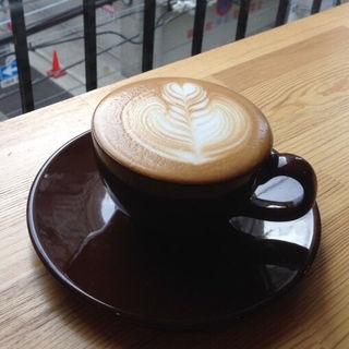 カフェラテ(コーヒー ラボ フランク )