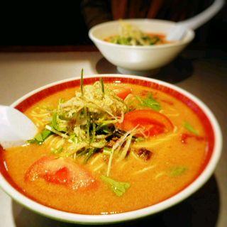 トマト担々麺(ラーメン屋 たんたん亭 )
