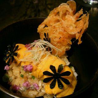 一夜干しカレイの炊き込みご飯(祇園 呂色)